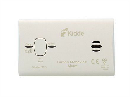 Kidde KID7COC Carbon Monoxide Alarm 10 Year Battery - Image
